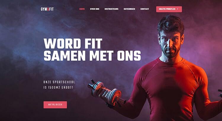 Demo website 3 voorbeeld